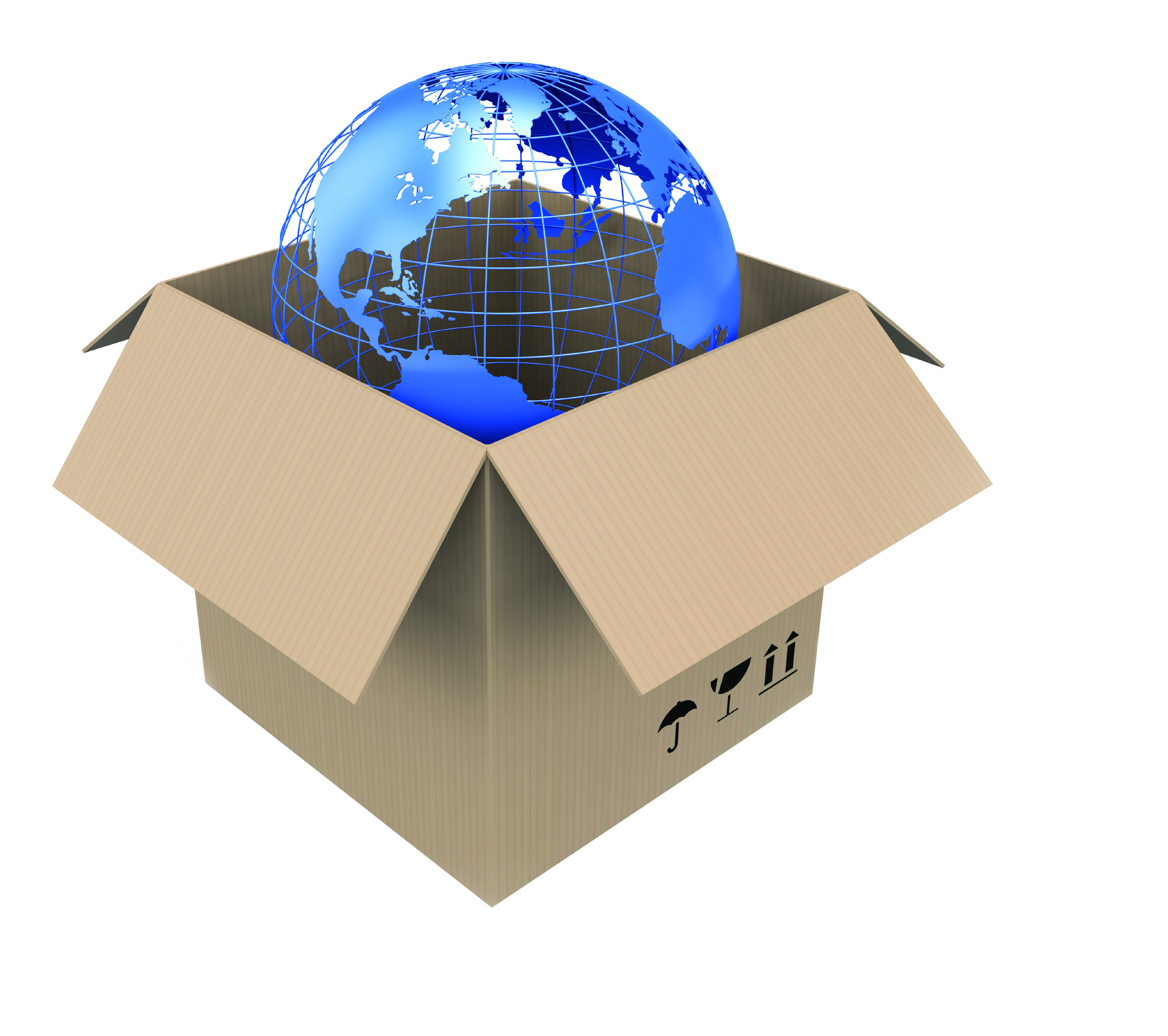 Globus im Paket